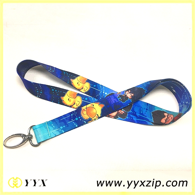 cartoon game lanyards