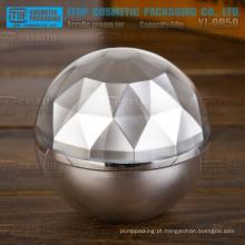 YJ-OD50 50g por atacado confiável high-end das camadas dobro acrílico prata bola jar