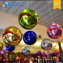 Disco luces espejo decorativo Balloon espejo bola decoraciones