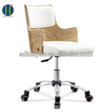 Foshan Haiyue HY2015 good luxury wood desk chair office desk chair BIFMA...
