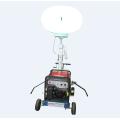 Balão portátil gerador diesel torre de luz