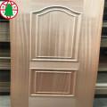 HDF door skin with natural wood veneer
