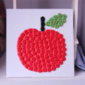 2017 New Design DIY educational toys plasic art and craft buttons