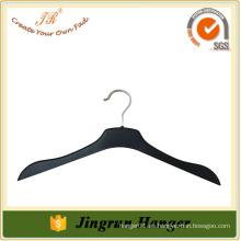 2016 Cinturón de plástico negro grueso percha personalizada