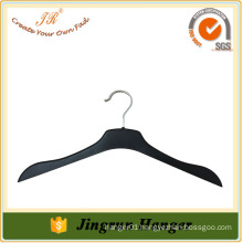 Assessed Supplier Custom Made High-End Black Plastic Clothes Hangers