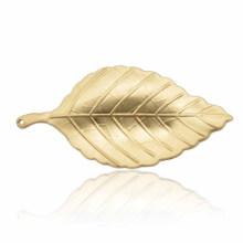 Mode-Zink-Legierung Silber und Gold plattiert Blätter Brosche für die Dame