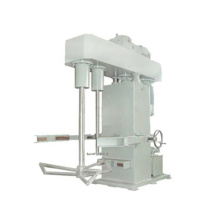Hydraulic lift double shaft butterfly mixer