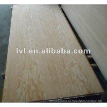 Panel de contrachapado de madera