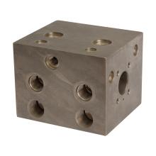 High quality aluminum/steel threaded hydraulic manifold block