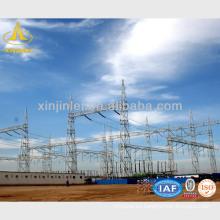 Línea de transmisión Estructuras de acero