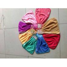 Pequena toalha de lã de coral, toalha de lã de coral de design lindo, toalhas de mão penduradas da cozinha