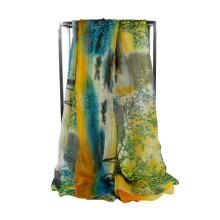 2016 Hot Sale Spring Colorful Young Lady Chiffon Scarf