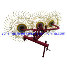 3 Tines Hay Rake for Farm Machinery Df Tractor
