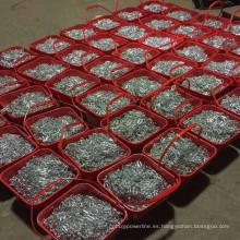 Cadena de eslabones cortos galvanizados Cadena de eslabones cortos DIN766