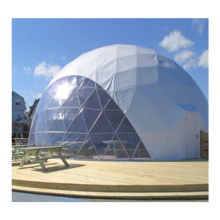 dome tent house for outdoor activities waterproof soundproof geodesic transparent canvas inflatable tent