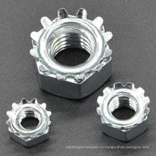 Гайка K-типа с углеродистой сталью с разным размером (CZ093)