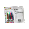 Spiral Birthday Candles Multi Pack Cake Wax Candles