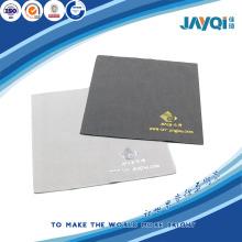 Micro fibra de limpieza de tela con plata caliente