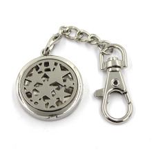 Cheap Custom Zinc Alloy Jewelry Diffuser Locket Key Chain