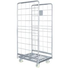 Usine prix rouleau cage des conteneurs, stockage de marchandises roll conteneurs, roll conteneur chariots
