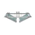 Panel de acceso de techo de aluminio artístico 600mmX1200mm