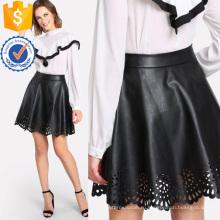 Гребешок Лазерная резка покрытием юбки Производство Оптовая продажа женской одежды (TA3092S)