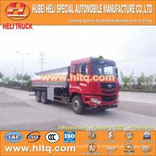 CAMC 6X4 caminhão-tanque de combustível 20000L preço barato fabricado na China