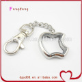 Fashion Stainless Steel Locket with keychain