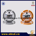 14G 3-Tone Wpt Injection Clay Poker Chip with Custom Stickers (SY-E31)