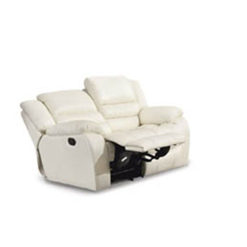 Genuine Leather Chaise Leather Sofa Electric Recliner Sofa (801)