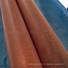 Red Copper 200 malha de malha de arame de cobre puro