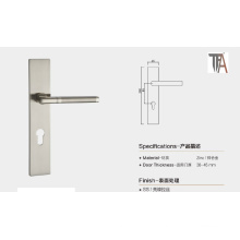 European Design for Zinc Material Silver Color Door Handle