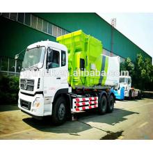 4x2 unidad Dayun comprimido Ducking Garbage Truck / docking camión de basura / compresor de basura camión / refuser camión de basura