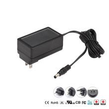 US Plug 12V 24V Medical Power Supply EN60601