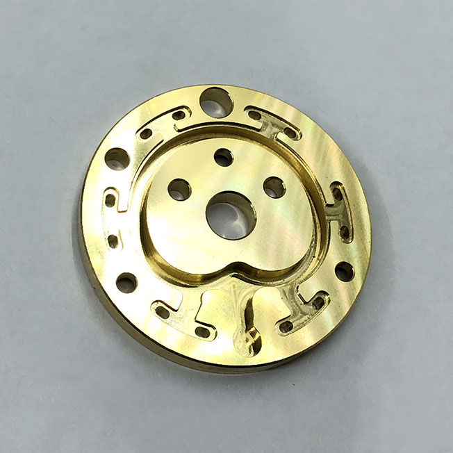 Custom Brass Parts Machining