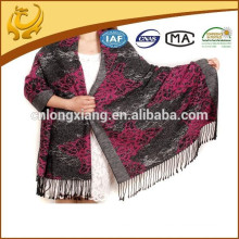 Fashion China Wholesale Factory Custom Design 100% soie Pashmina Echarpe pour les femmes