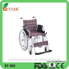 Sessão de rodas dobrável em cadeira de rodas leve para venda