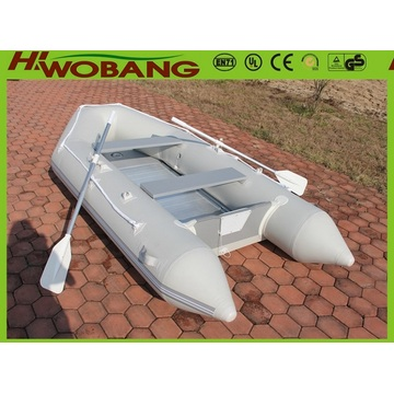 3.2m bordo de alumínio barco de pesca inflável com pá