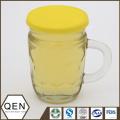 Honeycomb honey glasscup 312g