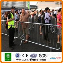 Alibaba fournisseur lourd revêtement de zinc Barrière de contrôle des foules