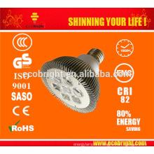 LED Spot MR16 luz 12W 2700k