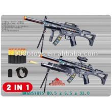 Fuego corriente y pistola suave de plástico electrónico