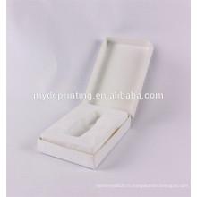 Cosmétiques d'emballage fait sur commande de marque de luxe avec la boursouflure