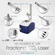 Laser de co2 fracionário médico de pixel de remoção de cicatriz