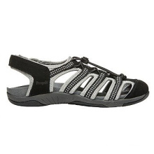 Gehen Sie nach draußen Leder Sporty Style Sandalen für Frauen