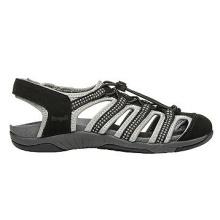 Sandalias de cuero estilo deportivo exterior para mujeres