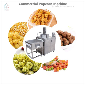 Machine à pop-corn en acier inoxydable à opération simple