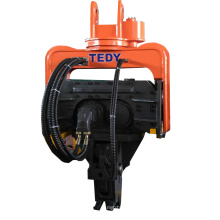 Chinese vibro rotating impact pipe pile hammer driver