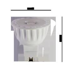 Lâmpada led cerâmica MR 16 lâmpada de baixa tensão