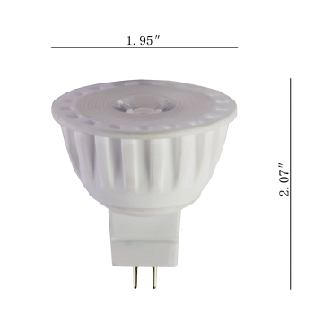 Ceramic Led bulb MR 16 low voltage bulb